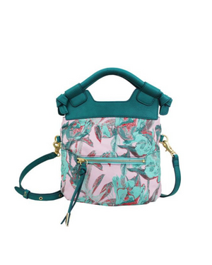 Disco City Crossbody in Lilac & Mint