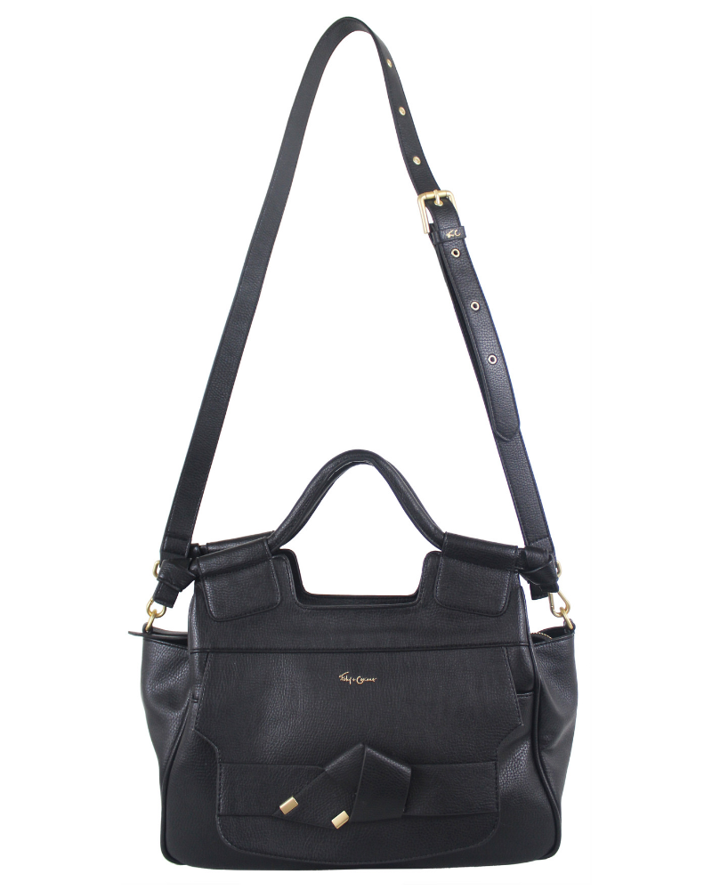 8e875c8e8a Brittany Satchel in Black