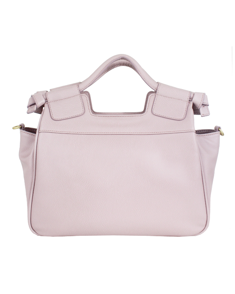 07b68943c8 Brittany Satchel in Violet Blush