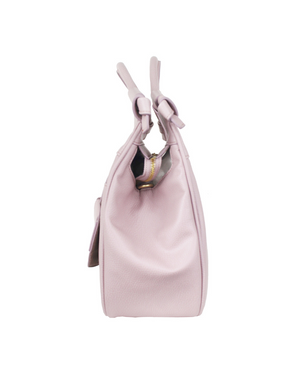 Brittany Satchel in Violet Blush
