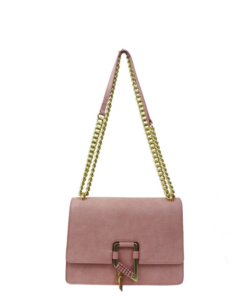 CITY BLOOMS CHAIN CROSSBODY IN BLUSH