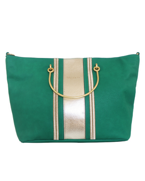 Harper Ring Tote in Green