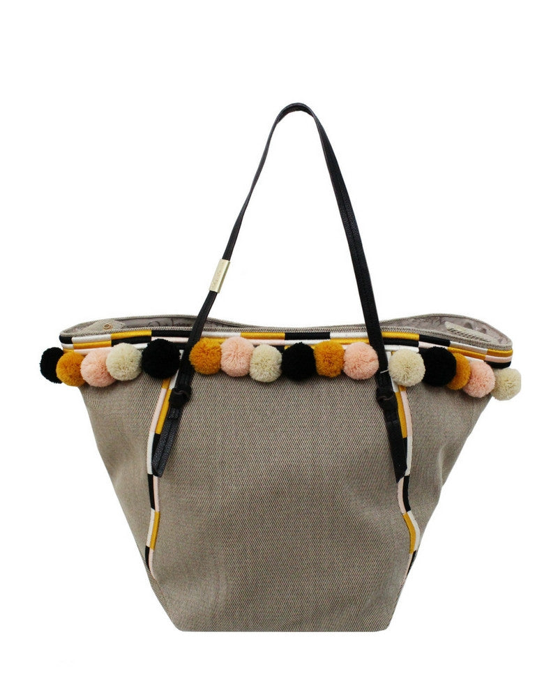 COCONUT ISLAND BEACH TOTE IN YELLOW