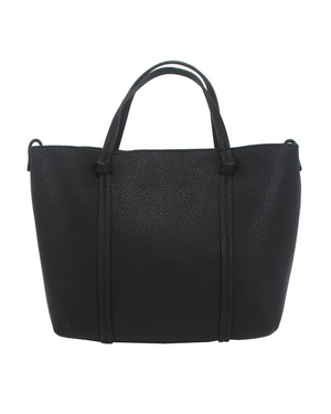 Flowerbed Creek Satchel in Black