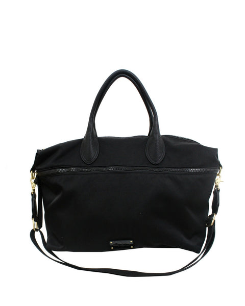 FUSION NYLON WEEKENDER IN BLACK