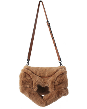 FC Lady Tote in Tan Fur