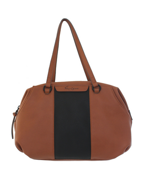 Isla Satchel in Cognac