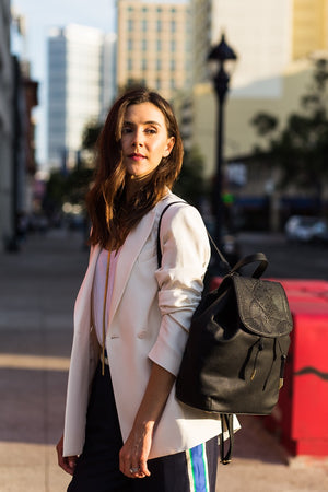 Sedona Sunset Backpack in Black