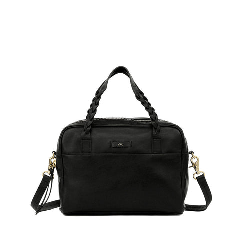 FC CABLE SATCHEL IN BLACK