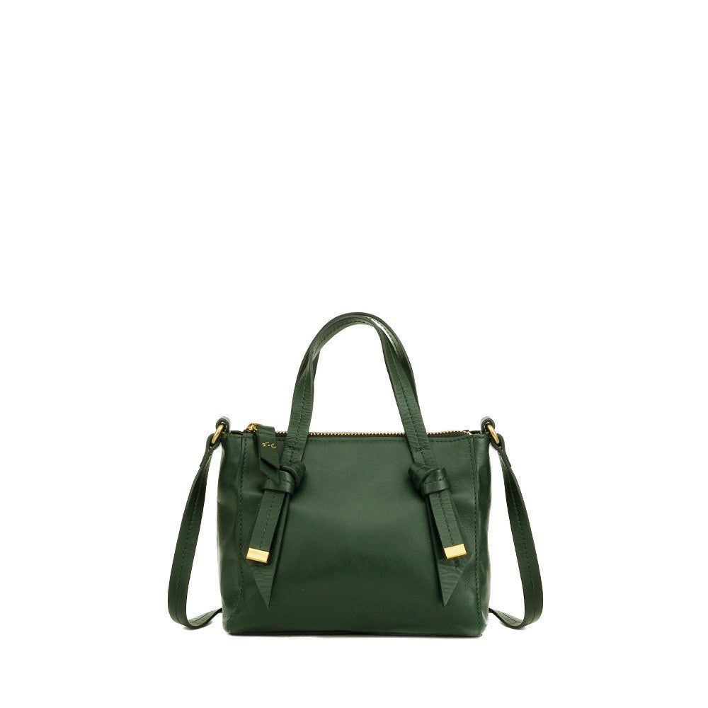 FC BANDEAU MINI SATCHEL IN EVERGREEEN
