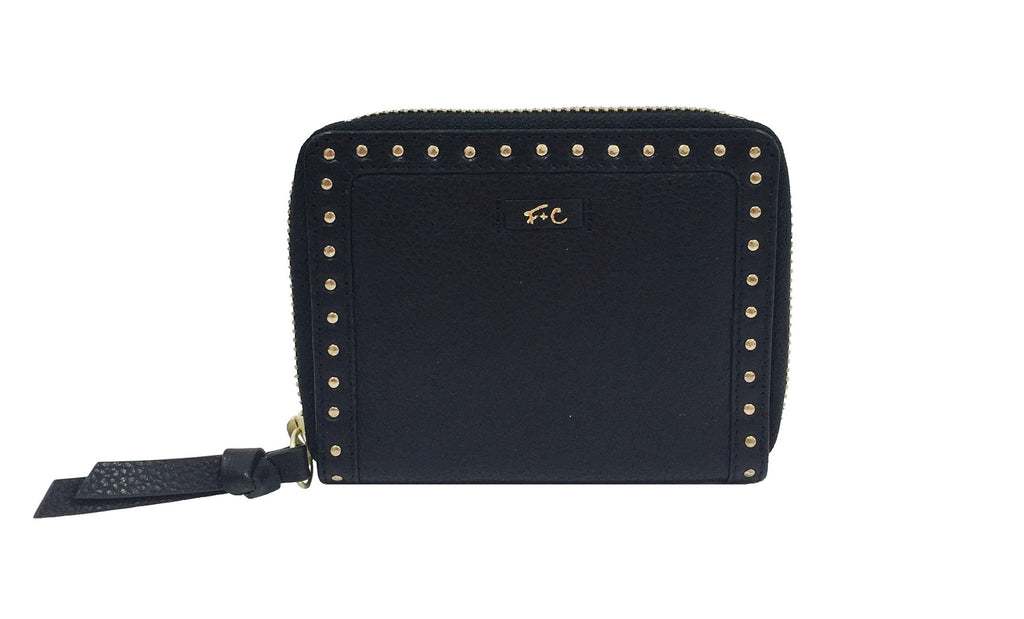 FC SLG SQUARE CUT WALLET IN JET BLACK
