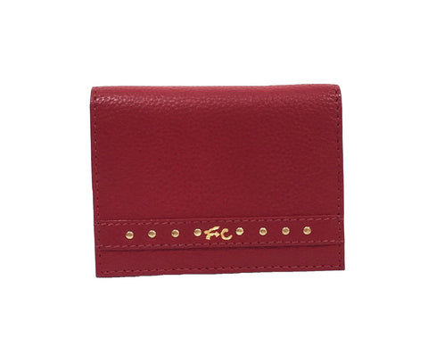 FC SLG SQUARE CUT CARD CASE RUBY