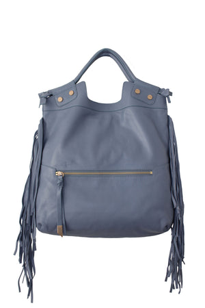 Sasha Mid City Tote in Azul