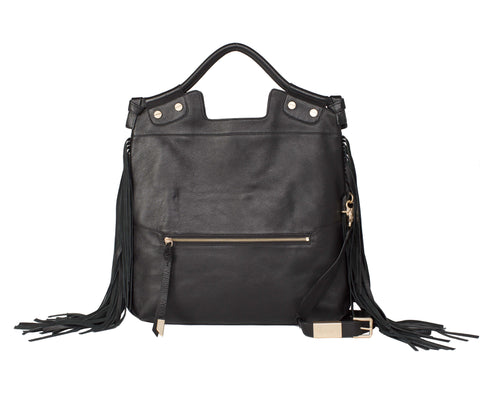SASHA CITY TOTE IN BLACK