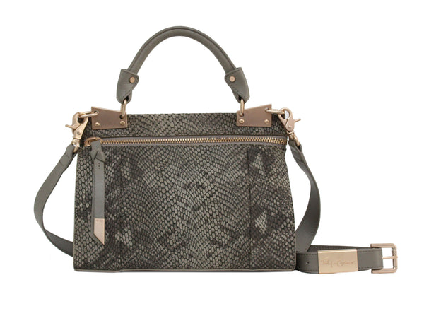 DIONE MINI MESSENGER IN SAFARI SNAKE