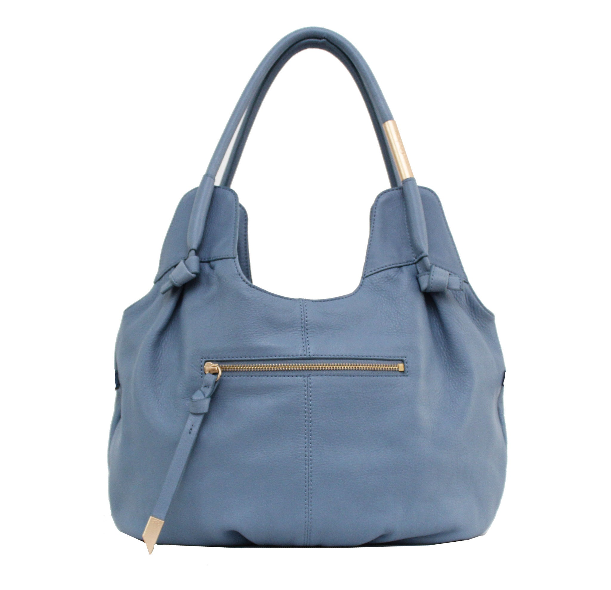MADDIE DOUBLE HANDLE HOBO IN AZUL
