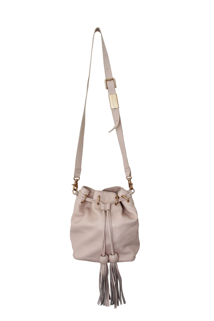 SASHA DRAWSTRING BUCKET IN CRUSH