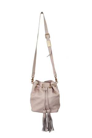 Sasha Drawstring Bucket Bag in Crush