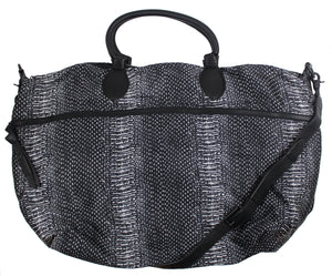 Expandable Weekender in Safari Snake
