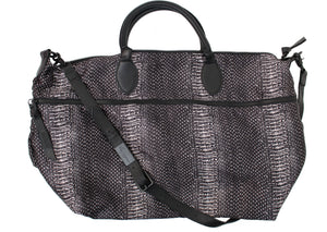 Expandable Weekender in Crush Snake