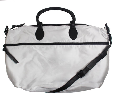 EXPANDABLE WEEKENDER IN SILVER