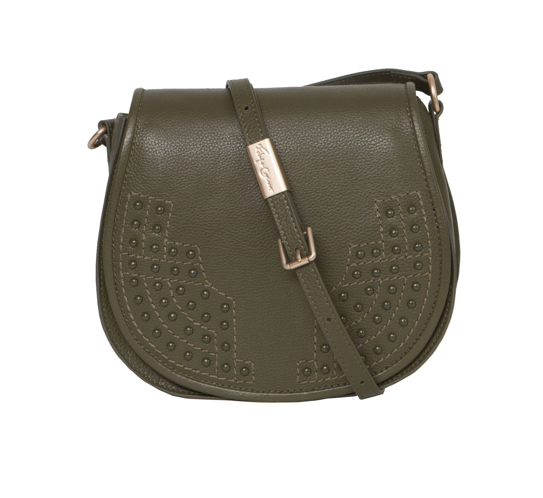 STEVIE SADDLE BAG IN MOSS