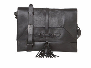 Bo Convertible Clutch in Black
