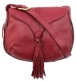 Arrow Crossbody in Ruby