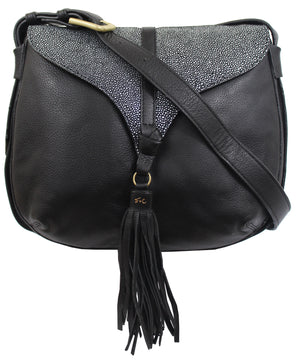 Arrow Crossbody in Stingray Combo
