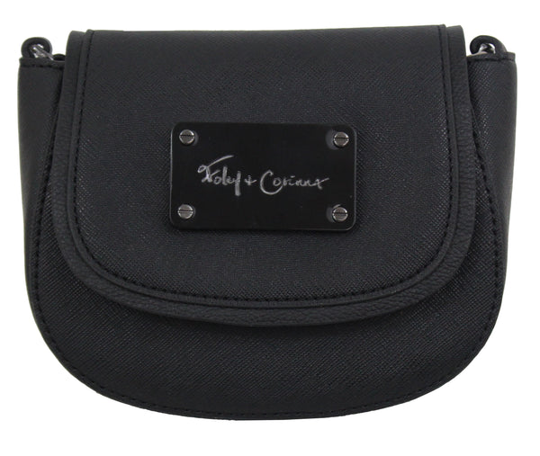 CITY ECLIPSE MINI SADDLE BAG IN MIDNIGHT MADNESS