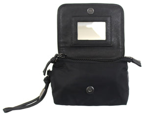 City Eclipse Cosmetic Wristlet in Black