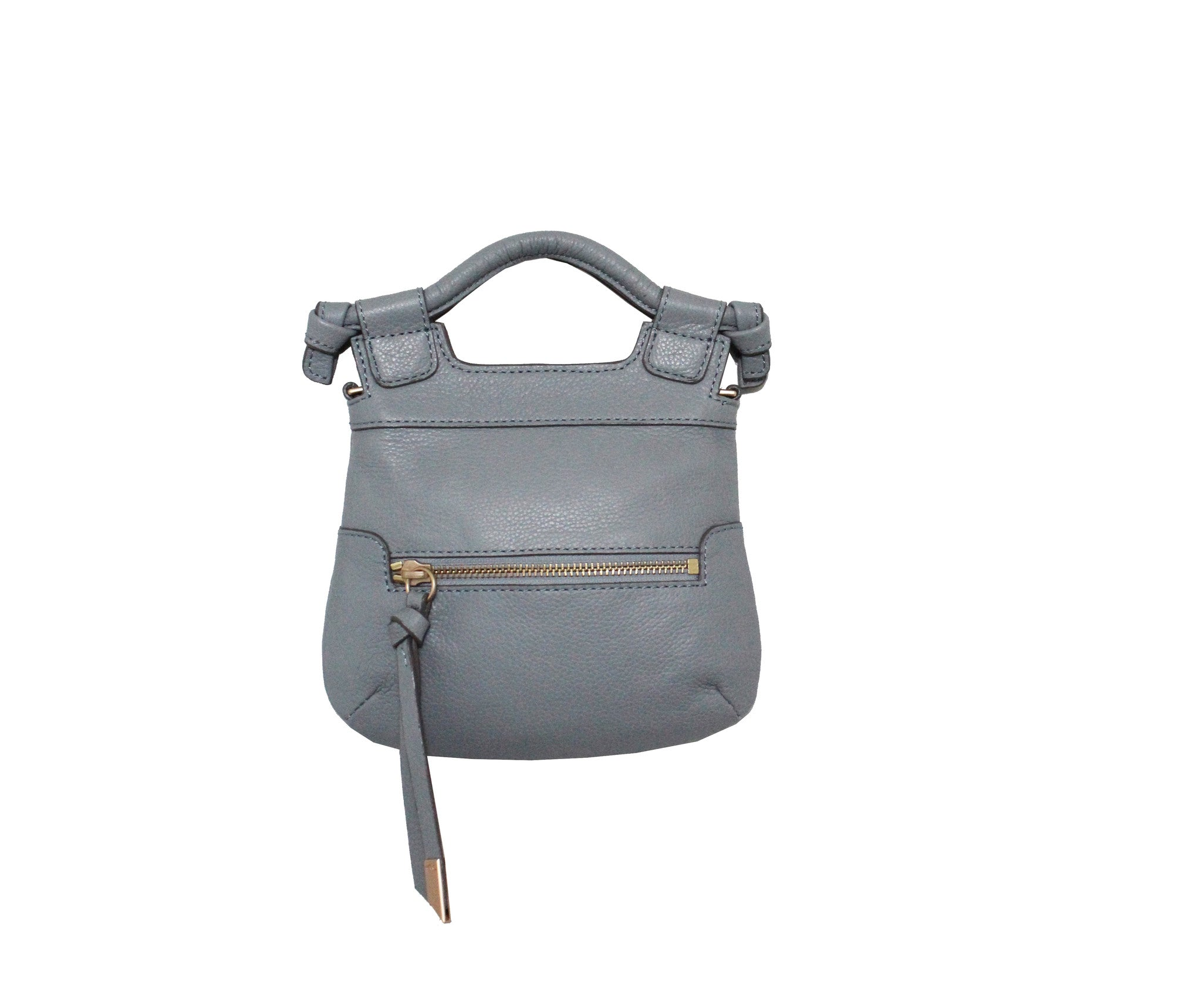 TINY CITY CROSSBODY IN MISTY GREY