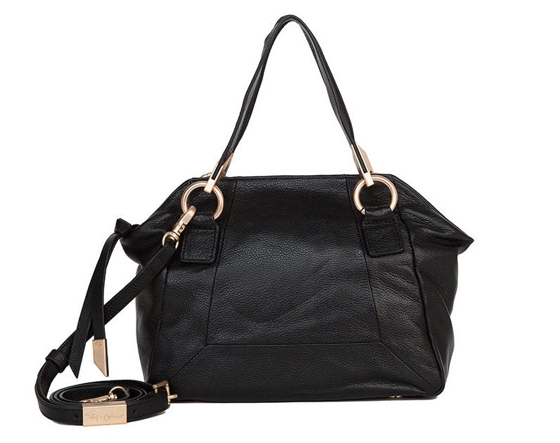 VELMA SATCHEL IN BLACK