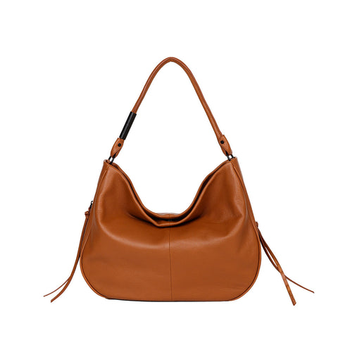 KIARA HOBO IN HONEY BROWN