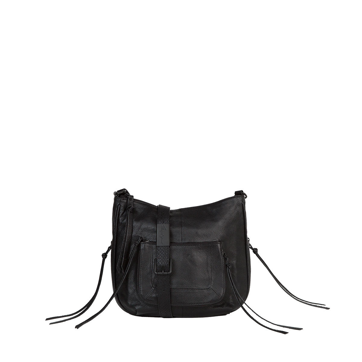 TONYA LARGE CROSSBODY IN BLACK