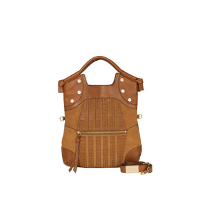 Charlotte FC Lady Tote in Honey Brown