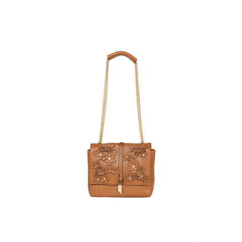 DAHLIA CROSSBODY IN HONEY BROWN