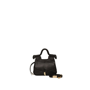 Brittany Mini Satchel in Black