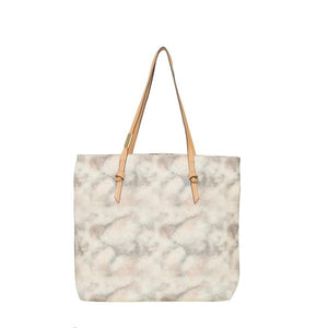 Athena Tote in Candied Peach