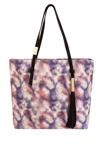 ATHENA TOTE IN LILAC CHIFFON COMBO