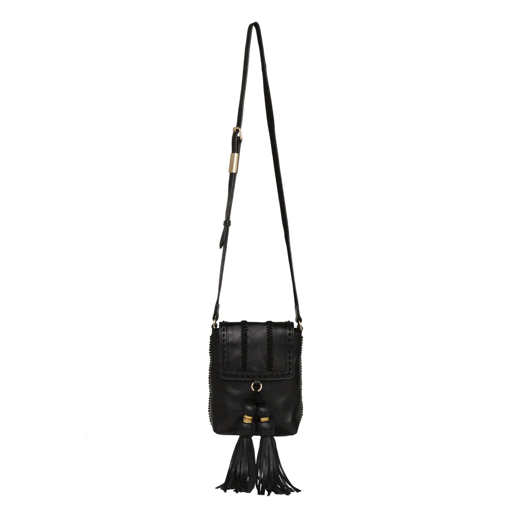 SARABI PHONE BAG CROSSBODY IN BLACK