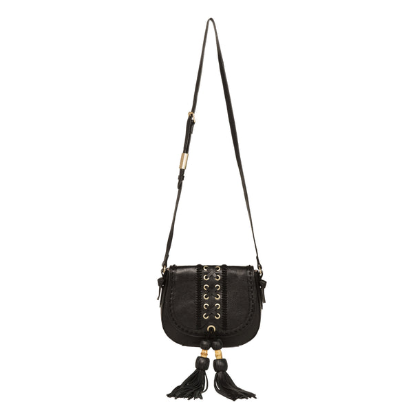 SARABI SADDLE BAG IN BLACK