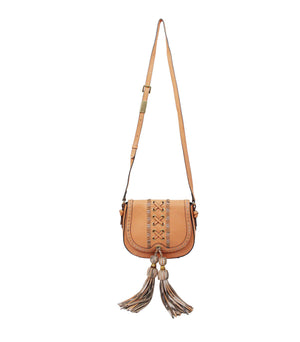 Sarabi Saddle Bag in Candied Peach