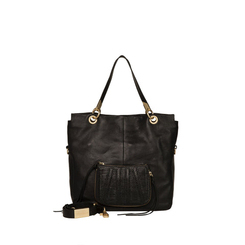 CHARLOTTE TOTE IN BLACK