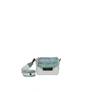 Isla Crossbody in Caribbean Blue