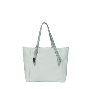 Ashlyn Tote in Caribbean Blue