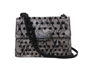 Skyline Bandit Drop Lock Crossbody in Snake