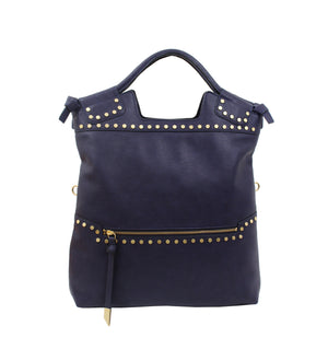 Stargazer Mid City Tote in Midnight Blue
