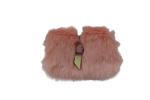 CITY BLOOMS BO CROSSBODY IN BLUSH FUR