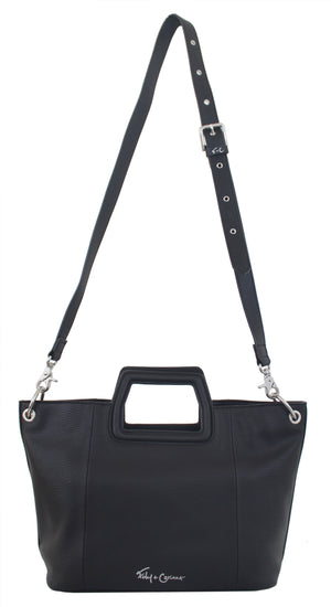 Mini Tate Tote in Black